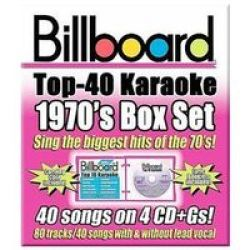 Billboard 1970&#39 S Top 40 Karaoke Box S Cd