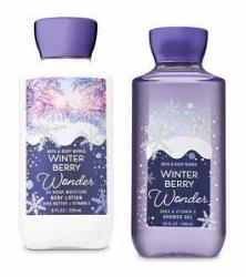 Bath And Body Works Winter Berry Wonder Body Care Set  Super Smooth Body  Lotion 8 Oz & Shower Gel 10 Oz  | R | Haircare | PriceCheck SA