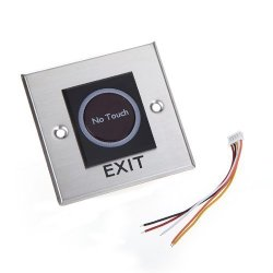 Docooler Infrared No Touch Contactless Door Release Exit Button Sensor Switch With LED Indication