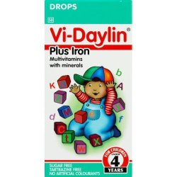 Vi-daylin + Iron Drops 30ML