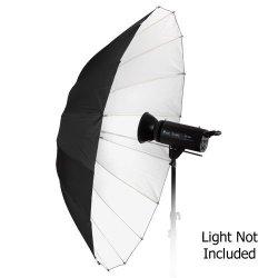 "Fotodiox Inc. Fotodiox Pro 16-RIB 60"" Black And White Reflective Parabolic Umbrella"