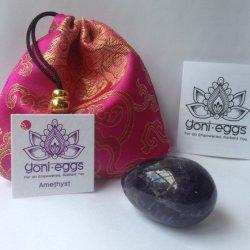 Amethyst Medium Yoni Egg