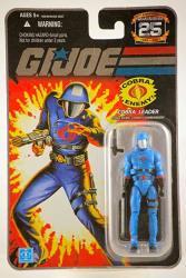"G.i. Joe Hasbro 25TH Anniversary 3 3 4"" Wave 4 Action Figure Cobra Commander Helmet"