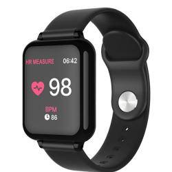 B57C 1.3 Inch Ips Color Screen Smart Bracelet IP67 Waterproof Support Call Reminder Heart Rate Monitoring blood Pressure Monitoring Sleep Monitoring excessive Sitting Reminder blood Oxygen