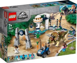 Lego Jurassic World Triceratops Rampage
