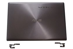 New Asus UX303L UX303 UX303LA UX303LN Lcd Back Cover Top Lid & Hinges Touch Grey Note: Not Fit Non-touch Screen UX303 Laptop