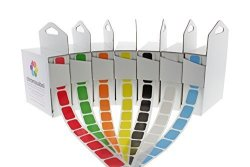 ChromaLabel 1 2 X 3 4 Inch Standard Color-code Labels 7 Assorted Colors 500 DISPENSER Box