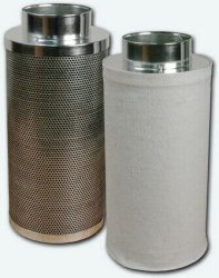 """Carbon Filter - 200X1000 Mm 8""""X39"""" 50 Mm Carbon Bed"""