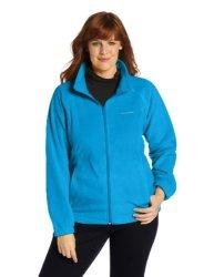 Columbia Women's Activewear Columbia Women's Plus Size Benton Springs Full Zip Fleece Jacket Dark Compass 2X