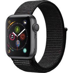 Apple Watch Series 4 40mm GPS in Space Grey Aluminium with Black Sports Loop