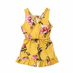 Toddler Kid Baby Girl Newborn Summer Tulle Skirt Stripe Dresses Sunsuit 0-24M TM Elevin