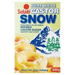 Selati Icing Snow Castor Sugar 500 G