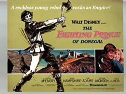 Movie Poster: Fighting Prince Of Donegal-peter Mcenery-susan HAMPSHIRE-11X14-COLOR-LOBBY Card