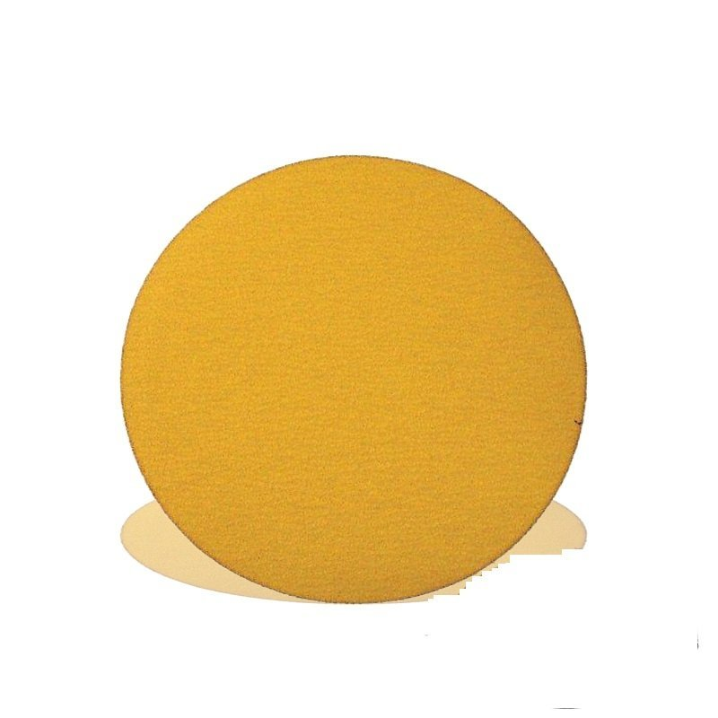 Tork Craft Gold Velcro Disc 50 Pieces 180 Grit 150mm Without Hole