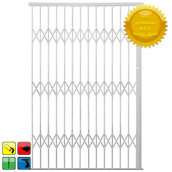 Xpanda Alu-glide Security Gate - 3000MM White