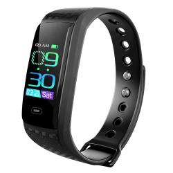 CK17S 0.96 Inches Ips Screen Smart Bracelet IP67 Waterproof Support Call Reminder Heart Rate Monitoring Blood Pressure Monitoring Sleep Monitoring Black