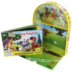Playful Ponies: Pony Playtime Book & Toy Novelty Book