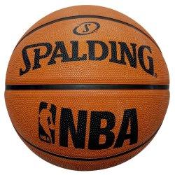Spalding - Nba Rubber Basketball Orange Size 7