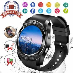SMART WATCH Fitness Watch Activity Tracker With Heart Rate Blood Pressure Monitor IP67 Waterproof Bluetooth Smartwatch Touch Screen Sports Tracker Watch For Android Ios