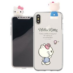 Iphone XS Max Case Hello Kitty Cute Figure Doll Soft Jelly Cover For Iphone XS Max 6.5INCH Case - Figure Hello Kitty Walking