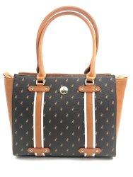 Polo Heritage Tote Handbag Brown