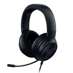Kraken Razer X Lite Ultralight Gaming Headset: 7.1 Surround Sound Capable - Lightweight Frame - Bendable Cardioid Microphone - For PC Xbox PS4 Nintendo