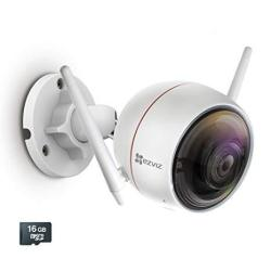 Ezviz C3W Ezguard 1080P - Wireless Wi-fi Security Camera With Remote Activated Alarm System And Pre-installed 16GB Microsd Car