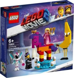 Lego The Movie 2 Introducing Queen Watevra Wa'nabi