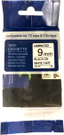 Brother TZE-221 Labelling Tape Black On White 9MM Wide - Compatible With Tz And Tze