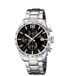 Festina Timeless Chronograph Analogue Men's Wrist Watch F16759 6