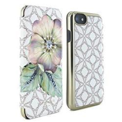 47c67b4f1 Ted Baker SS17 Mavis Mirror Folio Case For Iphone 7 6 6S Plus - Gem Gardens  Cream
