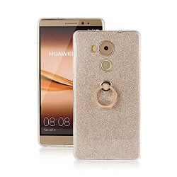 XLin Tech Huawei Mate 8 Case Nicelin Glitter Pattern Tpu Soft Case With Ring For Huawei Mate 8 - Not For Huawei Mate S