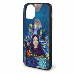 Yiwuyshi Descendants 3 Iphone 11 Series Case Scratch Proof Shock Absorption And Fall Proof Bumper Protector