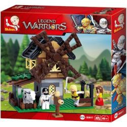 Sluban Legend Warriors - Windmill