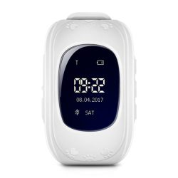 Q50 White Kids Gps Smart Watch With Call Function