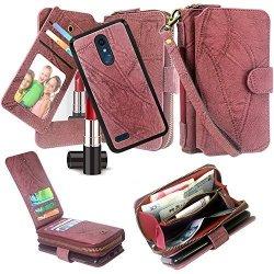 new style 7e6f1 06be0 Harryshell LG Stylo 4 Case LG Q Stylus Case Luxury Detachable Magnetic  Zipper Wallet Case Clutch Purse 11 Card Slots Mirror Hand | R1090.00 | ...