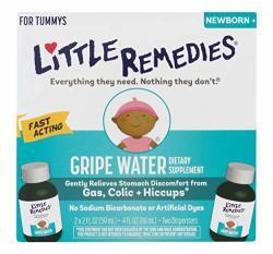 Little Remedies Gripe Water Safe For Newborns 2 Fl Oz Pack Of 2