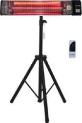 Goldair Patio Infrared Electric Heater With Tripod Stand