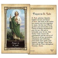 ShopCatholic St.jude Laminated Prayer Card - Pack Of 10