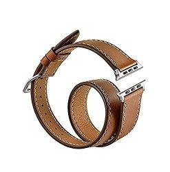 Apple Watchband Cheeday Handmade Iwatch Fashion Watch Strap Genuine Leather Smart Double Circle Band