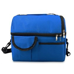 b784e55f5502 PCHui Lunch Bag Reusable Insulated Heavy Duty For Women Men Adults  Multifunctional 8L Cooler And Warm Keeping Lunch Box Leakproo | R850.00 |  Garden ...