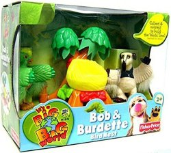 Fisher-Price It's A Big Big World Toy World Tree MINI Figure 2-PACK Bob & Burdette
