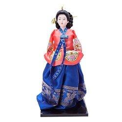"""THY TRADING 13.4"""" Korean Beauty Oriental Doll DOL7509-D6"""