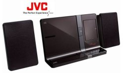 JVC Ipod ipad iphone Double Docking Station - Brown UX-VJ5TBM