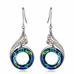 Earrings For Women Swarovski Earrings Crystal Earrings Hypoallergenic  Earrings Kate Lynn Women's Teal Swarovski Crystals Phoenix | R1195 00 |  Fancy