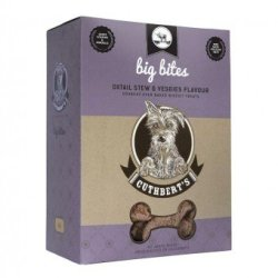 Cuthberts - 1KG Oxtail Stew And Veggies Flavour Large Bites Dog Biscuits