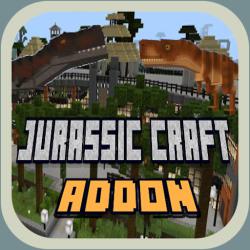 Jurassic Craft For Minecraft Pe