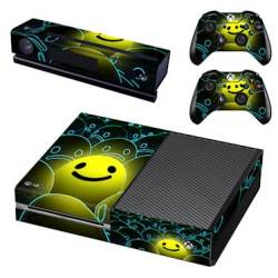SKIN-NIT Decal Skin For Xbox One: Happy Face