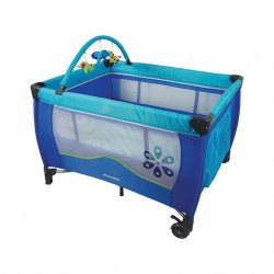 Mamakids Lulu Camp Cot - Blue