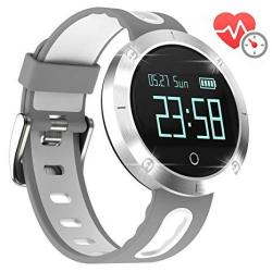 ArVin Heart Rate Watch Blood Pressure Monitor Smart Watch Sports Bracelet Wristband Activity Tracker Fitness Bracelet Cardio Watch With Pedometer Sleep Monitor For Iphone